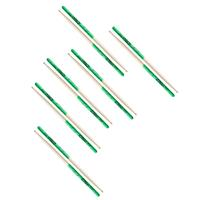 Compare Prices Of  Zildjian Maple Super 7A Green Dip Drumsticks, 6 Pair