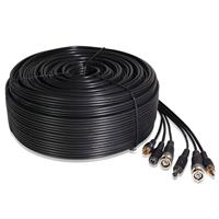Image of Zmodo 164' Premade Siamese Video + Power + Audio Cable, 22AWG