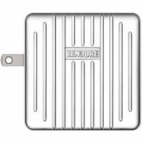 Image of Zendure SuperPort 2 57W Wall Charger with Power Delivery and US, UK, EU Plug, Silver