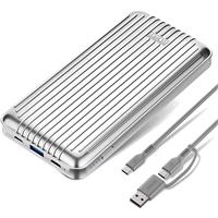 Image of Zendure A6PD 20000mAh USB-C Crush-Proof Portable Charger, Silver