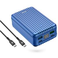 Image of Zendure SuperTank 27000mAh 100W PD USB-C Portable Charger, Blue