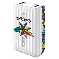 Image of Zendure X6 5-Year Anniversary Edition 20100 mAh Power Bank and USB Hub with 45W Power Delivery & Quick Charge, White