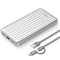 Image of Zendure Slim 18W PD 10000mAh Power Bank, Silver