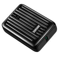 Image of Zendure SuperMini 10000mAh USB-C PD Credit Card Sized Portable Charger, Black