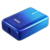 Compare Prices Of  Zendure SuperMini 10000mAh USB-C PD Credit Card Sized Portable Charger, Blue Horizon