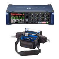 Image of Zoom F8n Multi-Track Field Recorder - With Zoom PCF-8N Protective Case