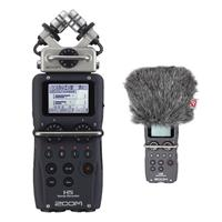 Compare Prices Of  Zoom H5 Recorder with Interchangeable Microphone System Bundled with Rycote Mini Windjammer