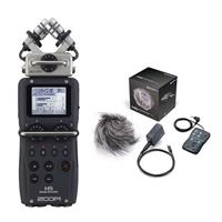 Image of Zoom ZH5 Recorder with Interchangeable Microphone System - Bundle With Zoom Accessory Pack for H5