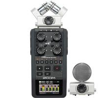 Zoom H6 Handy Recorder with Interchangeable Microphone System