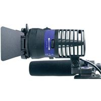 Bebob Engineering Lux LED, On-board Camera Light Broadcast Kit with 4-Leaf Barn Door & Diffuser, Product image - 202