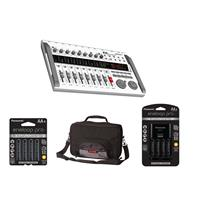 Image of Zoom R16 - Digital Multi-Track Recorder & Mixer, - Bundle With Gator G-MULTIFX-1510 Effects Pedal Bag, Panasonic Charger with 4 Pro Eneloop AA Size Batteries, 4x Eneloop Pro AA NiMH Batteries