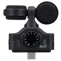 Compare Prices Of  Zoom Am7 Mid-Side Stereo Microphone with USB-C Connector for Android Devices