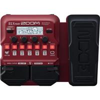 Image of Zoom B1X Four Multi-Effects Processor with Expression Pedal for Electric Bass Guitar