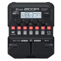 Image of Zoom G1 Four Multi-Effects Processor for Electric Guitar