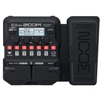 Image of Zoom G1X Four Multi-Effects Processor with Expression Pedal for Electric Guitar