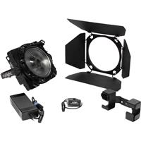 Image of Zylight F8-200 Daylight LED Fresnel Studio Kit, Includes Yoke AC Adapter Mount and DMX Interface Box