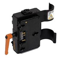 Image of Zylight RawPower Dual Battery Module with Power Cable for Pro-Panel/F8-200 LED Fresnel (Gold Mount)
