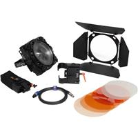 Image of Zylight F8-200 Daylight LED Fresnel Single Head ENG Kit with Gold Mount Battery Plate, No Case, Dimmable, 5600K Color Temperature