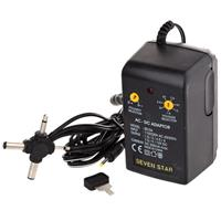 Adorama Adorama Seven Star by 1.5 volt - 12 volt DC, 500mA Universal AC Converter with Multiple Connector Ends.