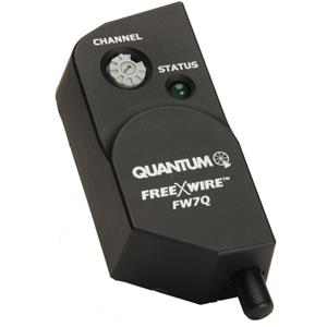 Affordable FW-7Q FreeXWire Radio Receiver for the Qflash 4d or 5d Flashes. Product photo