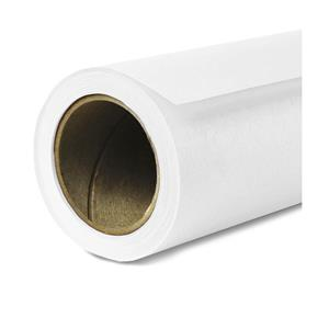 "Outstanding Seamless Background Paper, 107"" wide x 50 yards, Super White, #1 Product photo"