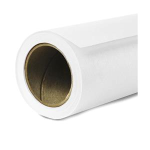 "Stylish Seamless Background Paper, 140"" wide x 35 yards, Super White, #1 - Must Be Sent by Truck Product photo"