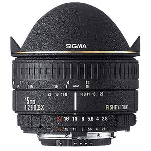 Learn more about 15mm f/2.8 EX DG AutoFocus Diagonal Fish-Eye Lens with Hood & Gel Holder for Pentax AF Cameras - Product photo