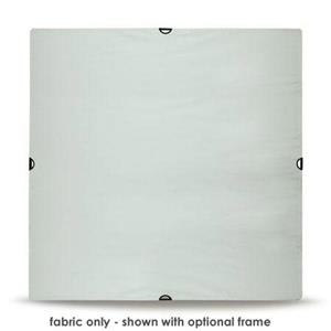 "User friendly Silver & White Extra Large Fabric, 96x96"" Product photo"