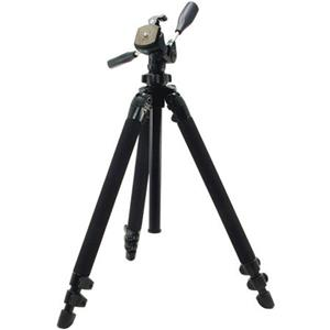 "Beautiful Pro 400DX Tripod Legs - Black - with 3-Way Pan/Tilt Quick Release Head (Height 18.5-61"", Maximu Product photo"