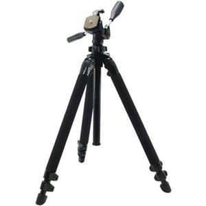 "Beautiful Pro 400DX Tripod Legs - Black - with 3-Way Pan/Tilt Quick Release Head (Height 18.5-61"", Maximu Product photo"