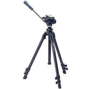 High-class 504QF II Tripod with 3-way Fluid Pan Head with Quick Release Product photo