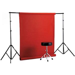 "Longstanding Free Standing Background Paper Rack System for 53"" or 109"" Rolls of Paper, Maximum Height: Product photo"