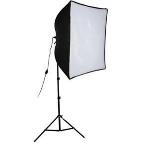 "Tasteful KSB-500 Economy Softbox One Light Kit, with SBL-2436"" Softbox Light, Light Stand, & 500W Ph Product photo"
