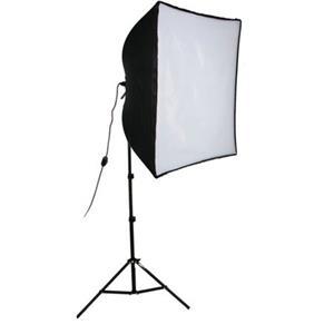 "Tasteful KSB-500 Economy Softbox One Light Kit, with SBL-2436"" Softbox Light, Light Stand, & 500W Ph Product photo"