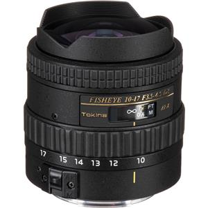 Design 10-17mm F/3.5-4.5 DX Autofocus Fisheye Zoom Lens for Canon EOS Digital SLR Cameras, with Built-in Ho Product photo