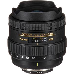 Remarkable 10-17mm F/3.5-4.5 DX Autofocus Fisheye Zoom Lens for Nikon Digital SLR Cameras Product photo
