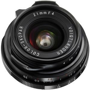 Best-selling Color-Skopar 21mm f/4.0 Pancake Lens with Leica M Mount - Black Product photo