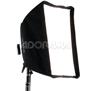 "Longstanding 16"" x 22"" Softbox with Silver Interior for Flash & Continuous Output Lights up to 1000 Product photo"