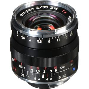 Purchase 35mm F/2 T* ZM Biogon Lens, for  & Leica M Mount Rangefinder Cameras, Black Product photo