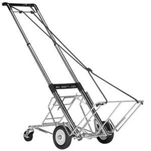 Learn more about 880-3 Folding Equipment Cart with 400 lbs Capacity, with Rear Wheel Assembly. Product photo