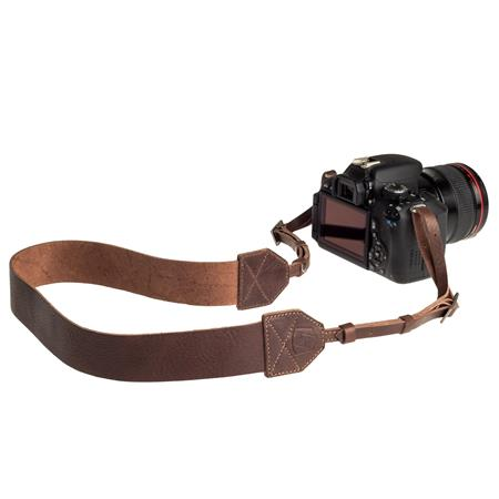 A The Morgan Leather Camera Strap Length  76 - 206