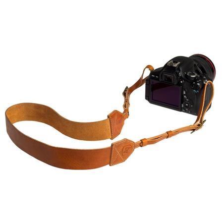 A The Morgan Leather Camera Strap Length Tan 76 - 206