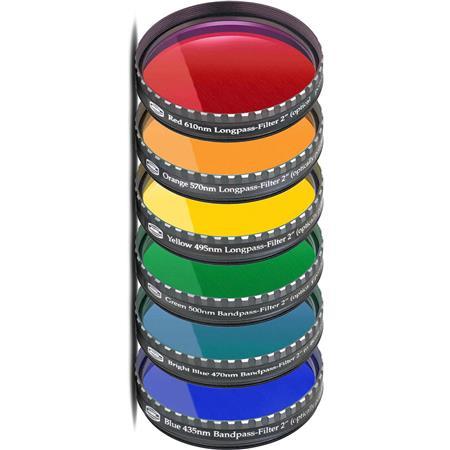Baader Planetarium Premium SiColor Filter Set Eyepiece 39 - 186