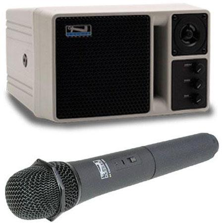 Anchor Audio AN U Powered Speaker Monitor Wireless Receiver and Wireless Handheld Mic 497 - 66