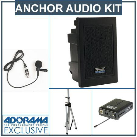 Anchor Audio EXP U Explorer Pro Wireless Receivers SS Stand Lapel Microphone BodyPack Transmitters 101 - 676
