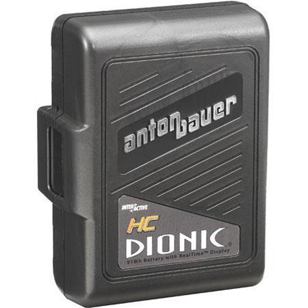 Anton Bauer Dionic HC Digital Interactive Lithium Ion Battery volts watt hours 414 - 92