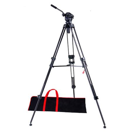 Acebil i DX Stage Compact Lightweight Aluminum Video Tripod Ball Leveling Head Maximum Height Holds  237 - 187