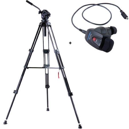 Acebil i DX Stage Compact Lightweight Aluminum Tripod Ball Leveling Head Bundle Acebil RMC AVR Video 72 - 727