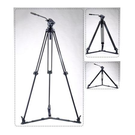 Acebil J GX Stage Aluminum Video Tripod Ground Spreader and Ball Leveling Head Maximum Height Holds  90 - 499