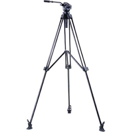Acebil J MX Stage Tripod Position Middle Spreader and Ball Leveling Head Maximum Height Holds Up to  65 - 594